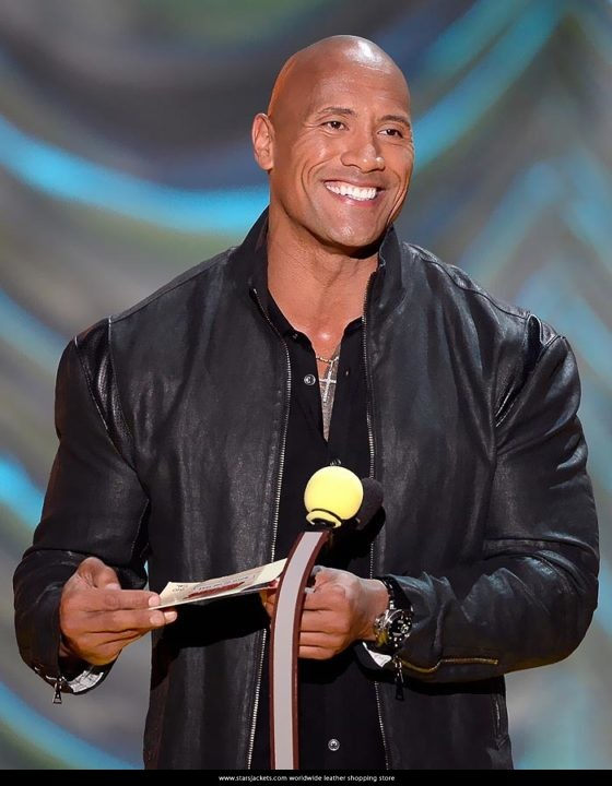 Dwayne Johnson Mark Wahlberg MTV Movie Awards Show 2015 Jacket