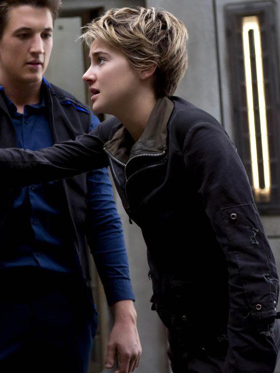Insurgent 2015 Movie Shailene Woodley Jacket