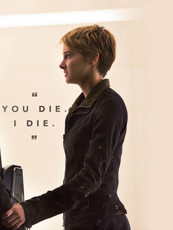 Insurgent 2015 Movie Shailene Woodley Leather Jackets