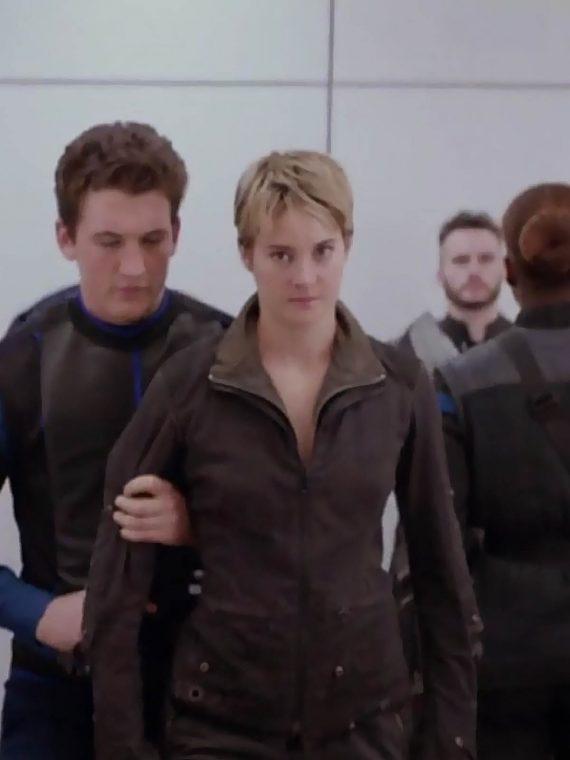 Insurgent 2015 Shailene Woodley Leather Jacket