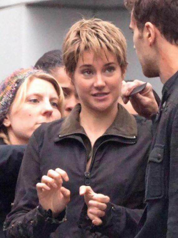 Insurgent 2015 Shailene Woodley Leather Jackets
