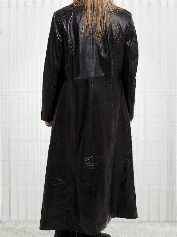 Margot Australian Movie Actress Robbie Leather Coats
