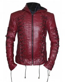 Roy Harper Arrow Season 3 Colton Haynes Arsenal Hoodie Jacket