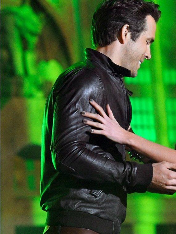 Ryan Reynolds Spike TV's Scream 2010 Leather Jacket
