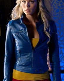 Supergirl Smallville Laura Vandervoort Blue Jackets