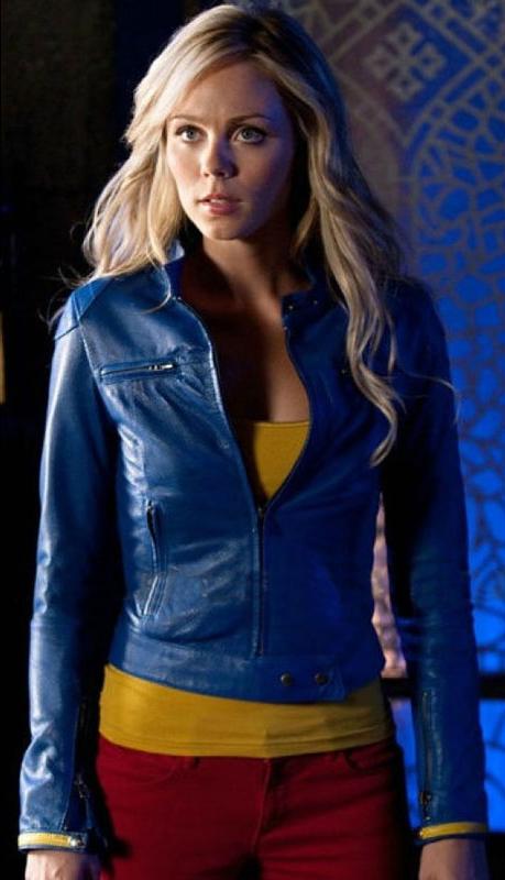 Supergirl Smallville Laura Vandervoort Blue Jackets