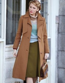 The Age of Adaline Blake Lively Retro Camel Cotton Coats