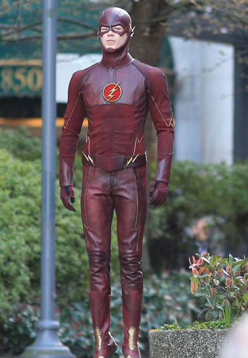 The Flash Jacket American Television Series Grant Gustin The Flash Jacket
