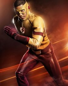 The Flash Wally West Yellow Leather Jackets