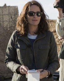 Tina Fey Whiskey Tango Foxtrot Cotton Jacket