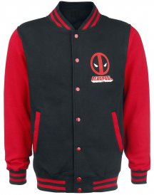 Varsity Style Deadpool Jacket