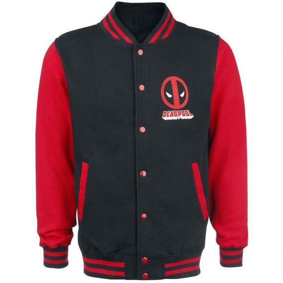 Varsity Style Deadpool Jacket