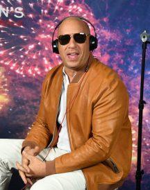 Vin Diesel Billy Lynn Long Halftime Walk Jacket