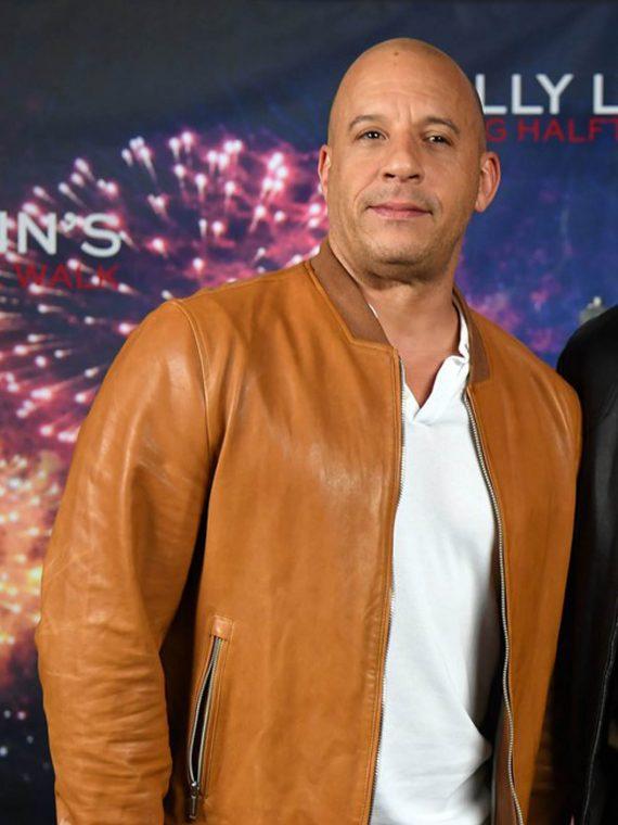 Vin Diesel Billy Lynn Long Halftime Walk Jackets