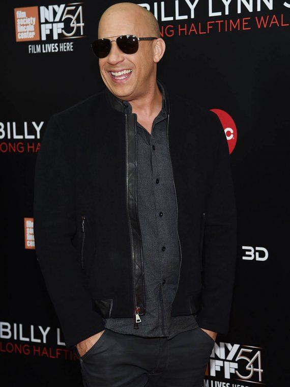Vin Diesel Billy Lynn's Long Halftime Walk New York Film Festival Jackets