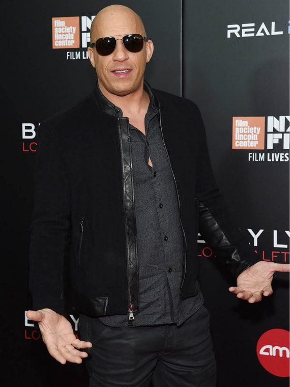 Vin Diesel Billy Lynn's New York Film Festival Jacket