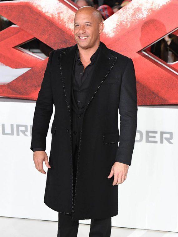 Vin Diesel Paramount xXx Return Xander 3 Movie Premiere Coat