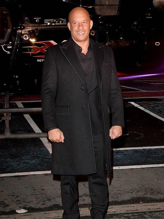 Vin Diesel Paramount xXx Return Xander 3 Movie Premiere Coats