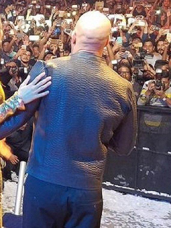 Vin Diesel xXx 3 Movie Premiere Crocodile Black Jackets