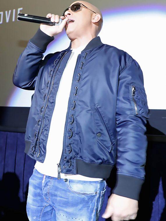 Vin Diesel xXx Return Xander Cage 3 LA Screening Jacket