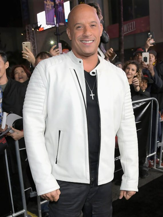 Vin Diesel xXx Return Xander Cage LA Premiere Paramount Jacket