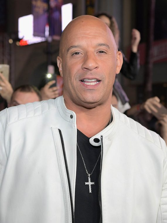 Vin Diesel xXx Return Xander Cage LA Premiere Paramount White Jacket