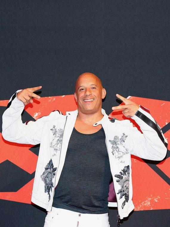 Vin Diesel xXx Return Xander Cage World Premiere Jackets