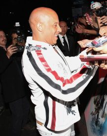 Vin Diesel xXx Return Xander Cage World Premiere White Jacket