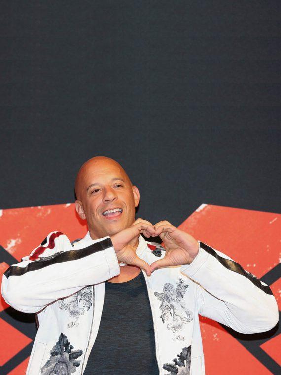 Vin Diesel xXx World Premiere White Jacket
