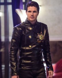 Welcome to Earth 2 Robbie Amell Jacket