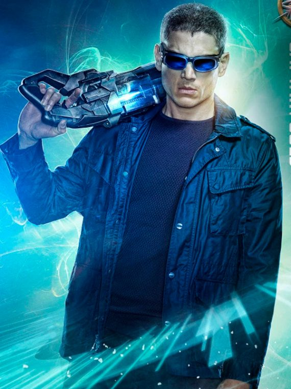 Wentworth Miller Legends of Tomorrow Black Jacket