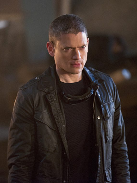Wentworth Miller Legends of Tomorrow Black Jackets