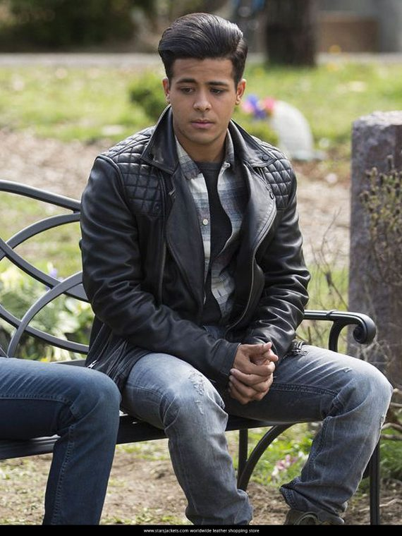 13 Reasons Why 2017 Tony Padilla Leather Jackets