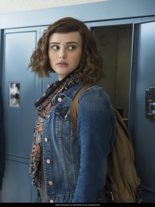 13 Reasons Why Hannah Baker Denim Jeans Jacket