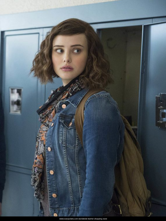 13 Reasons Why Hannah Baker Denim Jeans Jacket