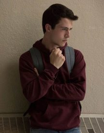 13 Reasons Why Hoodie - Clay Jensen Maroon Jacket