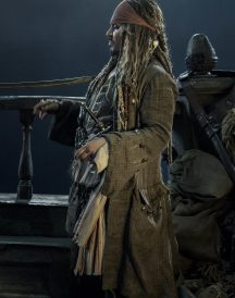 Captain Jack Sparrow Johnny Depp Coat