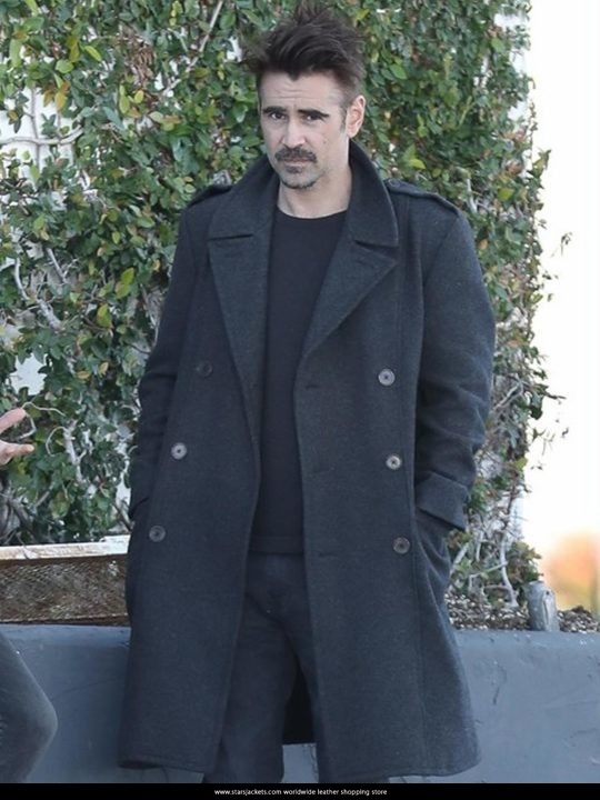 Colin Farrell The Beguiled John McBurney Hangs Out Coat