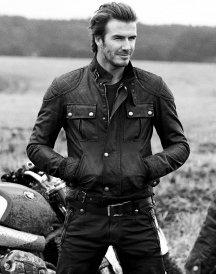 David Beckham Steve Mcqueen Leather Jacket