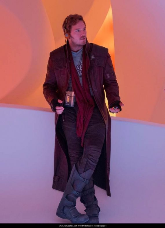 Guardians of The Galaxy Star Lord Vol 2 Coat