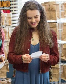 Hannah Baker 13 Reasons Why 2017 Jacket - Katherine Langford Jacket