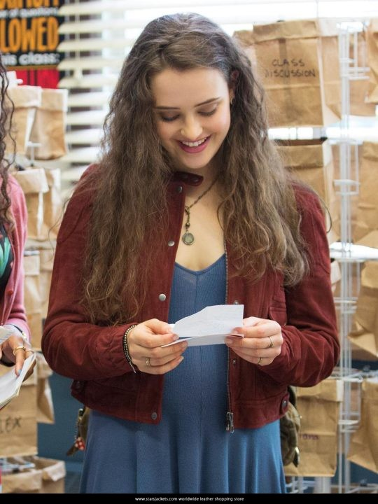 Hannah Baker 13 Reasons Why 2017 Jacket - Katherine Langford Jacket