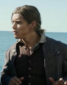 Henry Turner Brenton Thwaites Cotton Jacket
