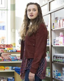 Katherine Langford 13 Reasons Why 2017 Jacket - Hannah Baker Jacket