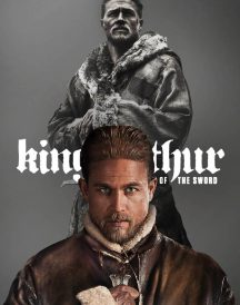 King Arthur Charlie Hunnam Fur Leather Coat