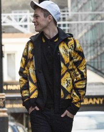 Kingsman 2 The Golden Circle 2017 Gary Eggsy Unwin Golden Jacket
