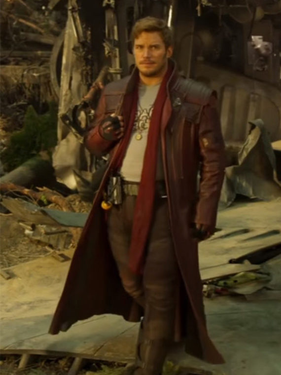 Star Lord 2 Guardians of The Galaxy 2 Long Coat