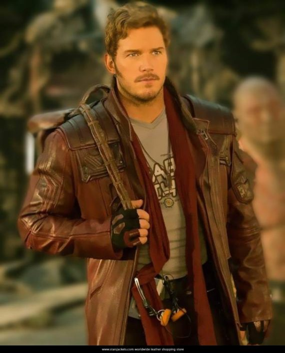 Star Lord Guardians of The Galaxy 2 Trench Coat