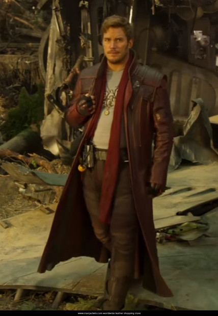 Star Lord Guardians of The Galaxy 2 Trench Coats