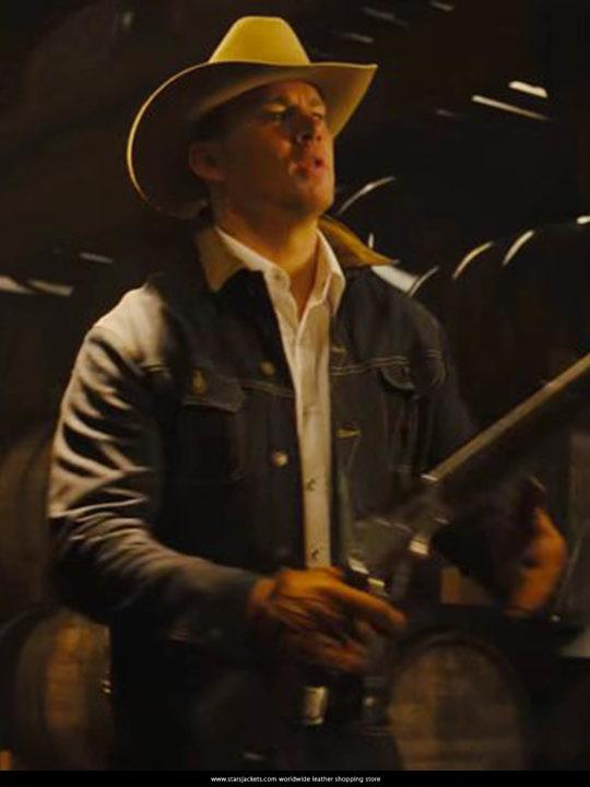 Statesman Secret Agent Kingsman 2 2017 Channing Tatum Jeans Jacket